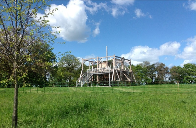 Jupiter Artland - Sam Durant Scaffold 2012. Image Keith Hunter